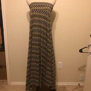 Lularoe Arrows Maxi Skirt Size 2X